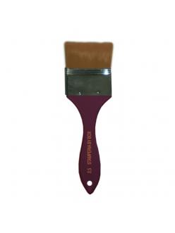 Кисть-флейц синтетическая № 2,5 Stamperia, ширина 6,5 см