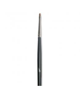 Кисть плоская скошенный край, № 5/0, синтетика, Stamperia KR65/S