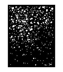 "Трафарет объемный ""Ржавчина"", толщина 0,25 мм, 15х20 см, Stamperia KSAT09"