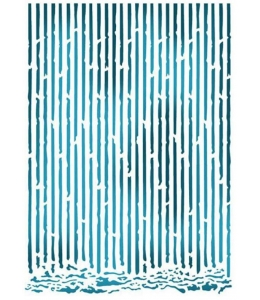 "Трафарет пластиковый KSG390 ""Cardboard cotout"", 21х29,7 см, Stamperia (Италия)"