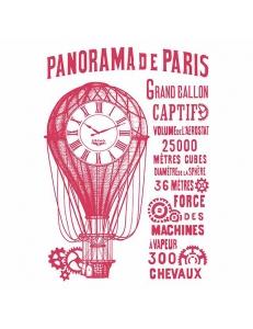 "Трафарет пластиковый KSG429 ""Panorama de Paris"", 21х29,7 см, Stamperia (Италия)"
