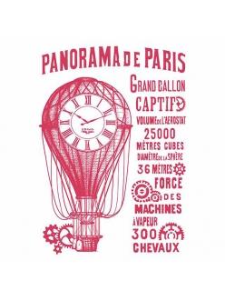 Трафарет для декора Panorama de Paris, 21х29,7 см, Stamperia