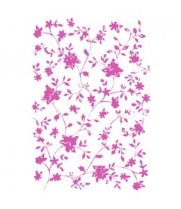 "Трафарет пластиковый KSG92 ""Маленькие розы"", 21х29,7 см, Stamperia (Италия)"