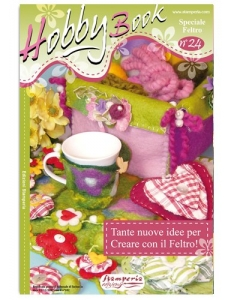 "Журнал ""Hobby Book"" № 24 Stamperia на итальянском языке"