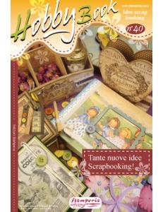 """Журнал """"Hobby Book"""" № 40 Stamperia на итальянском языке """"Оригинальные идеи для скрапбукинга"""""""
