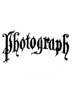 Штамп силиконовый Photograph, 5х7 см, Stamperia WTK089