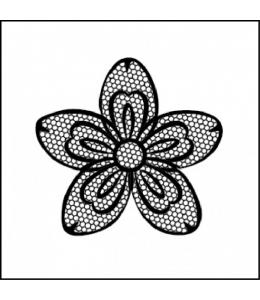 "Штамп силиконовый WTK131 ""Цветок"", Stamperia, 10х10 см"