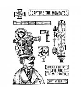 """Набор резиновых штампов """"Запечатленные моменты"""", Stamperia, 15х20 см"""