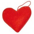 Заготовка Сердце из фетра на подвесе, 9см, Stamperia (Италия)