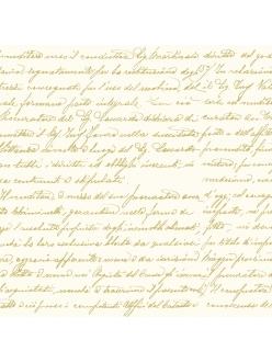Салфетка для декупажа Рукописный текст, 33х33 см, Германия