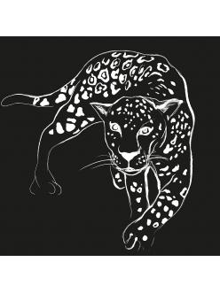Салфетка для декупажа Леопард, 33х33 см, Германия
