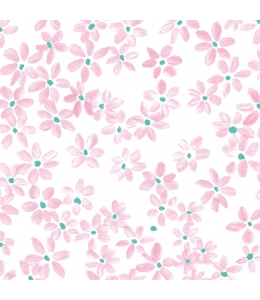 """Салфетка для декупажа """"Розовые цветочки"""", 33х33 см, Германия"""