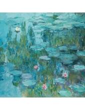 """Салфетка для декупажа """"Водяные лилии Клод Моне"""", 33х33 см, Германия"""