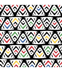 """Салфетка для декупажа """"Африканский орнамент"""", 33х33 см, Германия"""