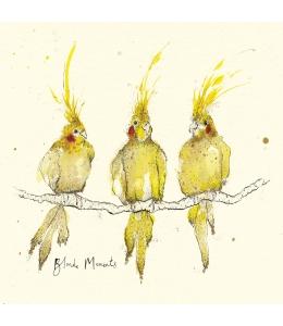 """Салфетка для декупажа """"Три попугая"""", 33х33 см, Германия"""