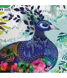 """Салфетка для декупажа """"Синяя птица"""", 33х33 см, Германия"""