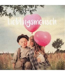 """Салфетка для декупажа """"Любимый человек"""", 33х33 см, Германия"""