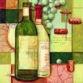 """Салфетка для декупажа """"Францкзское вино"""", 25х25 см, Германия"""