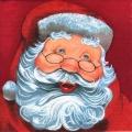 "Салфетка для декупажа ""Дед Мороз"", 33х33 см, Германия"