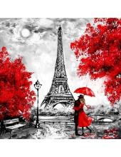 """Салфетка для декупажа """"Любовь в Париже"""", 33х33 см, Германия"""