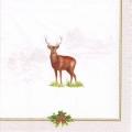 """Салфетка для декупажа """"Рождественский олень"""", 33х33 см, Германия"""