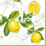 "Салфетка для декупажа HF13306290 ""Лимон"", 33х33 см, Ambiente (Голландия)"