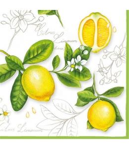 "Салфетка для декупажа ""Лимон"", 33х33 см, Ambiente"