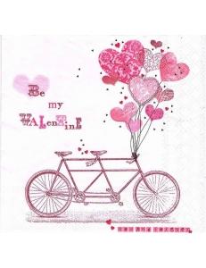 "Салфетка для декупажа HF13308215 ""Мой Валентин"", 33х33 см, Голландия"