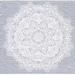 "Салфетка для декупажа HF13308785 ""Цветочное кружево серебро"", 33х33 см, Голландия"