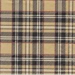"""Салфетка для декупажа HF13308791 """"Шотландка кремовая"""", 33х33 см, Голландия"""