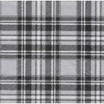 """Салфетка для декупажа HF13308792 """"Шотландка черно-белая"""", 33х33 см, Голландия"""
