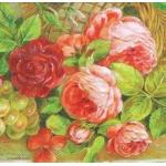 """Салфетка для декупажа HF13309030 """"Античные цветы"""", 33х33 см, Голландия"""