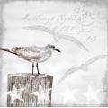 "Салфетка для декупажа HF13309115 ""Чайки"", 33х33 см, Голландия"