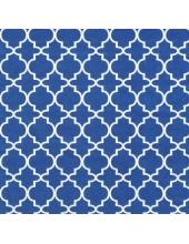 """Салфетка для декупажа """"Орнамент Оджи синий"""", 33х33 см, Голландия"""