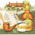 "Салфетка для декупажа HF13309575 ""Виски трубка"", 33х33 см, Голландия"