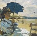 "Салфетка для декупажа HF13309600 ""Клод Моне, Пляж в Трувиле"", 33х33 см, Голландия"