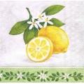 "Салфетка для декупажа ""Лимон Бранш"", 33х33 см, Голландия"