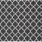 """Салфетка для декупажа HF13309718 """"Орнамент Оджи черный"""", 33х33 см, Голландия"""