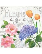 "Салфетка для декупажа ""Цветущий сад"", 33х33 см, Голландия"