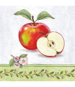 "Салфетка для декупажа HF13310160 ""Яблоки"", 33х33 см, Голландия"