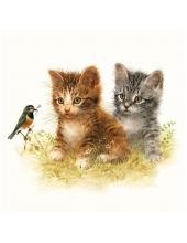 "Салфетка для декупажа HF13310170 ""Котята"", 33х33 см, Голландия"