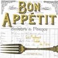 "Салфетка для декупажа ""Bon Appetit, белый фон"", 33х33 см, Германия"