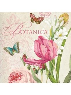 Салфетка для декупажа Ботаника, 33х33 см, Германия