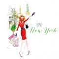 """Салфетка для декупажа """"Нью-йоркская девушка"""", 33х33 см, Германия"""