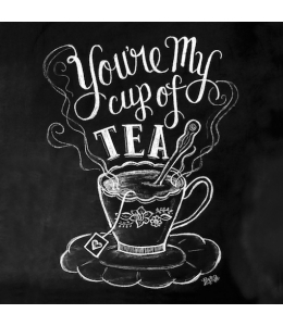 """Салфетка для декупажа """"Доска Cap of tea"""", 33х33 см, Германия"""