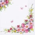 """Салфетка для декупажа """"Милые цветы"""", 33х33 см, Германия"""