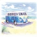 """Салфетка для декупажа HF211403 """"Автобус на пляже"""", 33х33 см, Германия"""
