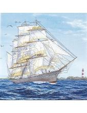 "Салфетка для декупажа ""Корабль"", 33х33 см, Германия"