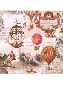 Салфетка для декупажа Воздушные шары, 33х33 см, Home Fashion Германия