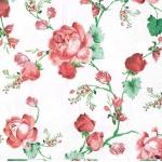 "Салфетка для декупажа ""Плетистая роза"", 33х33 см, Германия"